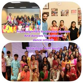 workshop with anish
